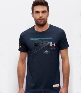 Military T-shirt B-2 SPIRIT BOMBER USAF