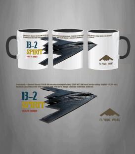 B-2 SPIRIT BOMBER USAF Mug