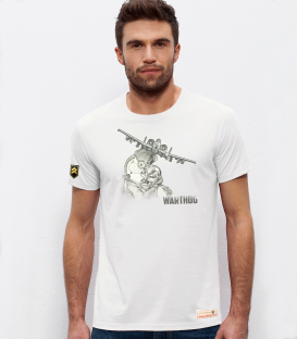 Military T-shirt A-10 Thunderbolt helmet