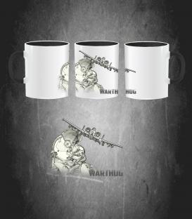 A-10 Thunderbolt helmet Mug