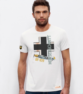 Military T-shirt Luftwaffe Bf-109