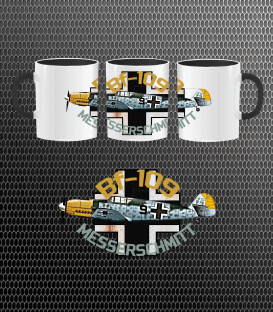 Luftwaffe Bf-109 Mug