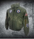F-15 Strike Eagle CWU Green Jacket