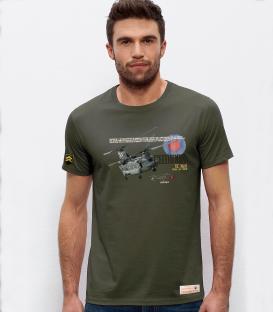 Military T-Shirt Chinook RAF