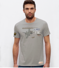 Military T-Shirt F-16C USAF