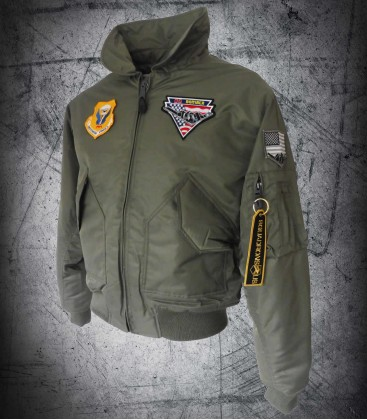 B-2 CWU Green Jacket