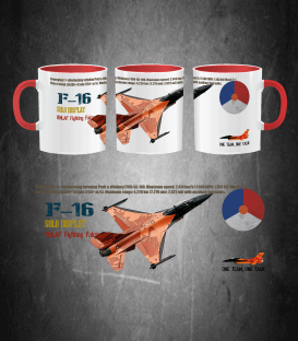 F-16 RNLAF Solo Display Mug