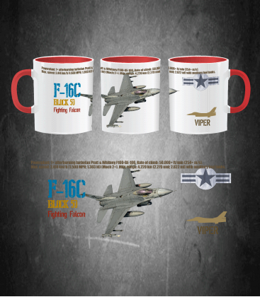 F-16C USAF Mug