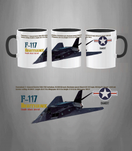 F-117 USAF Mug