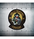 F-14 TOMCAT JOLLY ROGERS embroidery patch