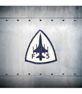 F-5 embroidery patch