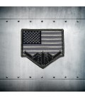 B-2 USA FLAG embroidery Patch
