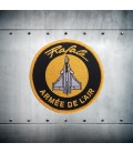 RAFALE Yelow embroidery patch
