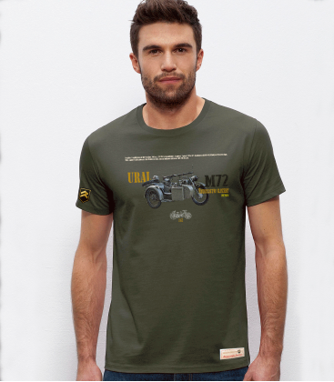 Military T-shirt URAL M-72 Motorcycle