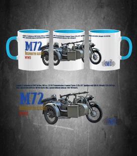 URAL M-72 Motorcycle Mug
