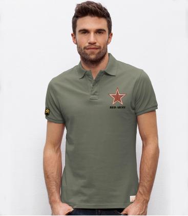 Military polo ARMY REDS