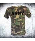 Military T-shirt _BRITISH ARMY CAMO