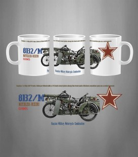 Russian Motorcycle 8B2/M MATCHLESS-VICKERS Mug