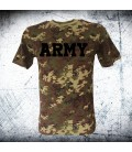Military T-shirt VEGETATO ARMY CAMO