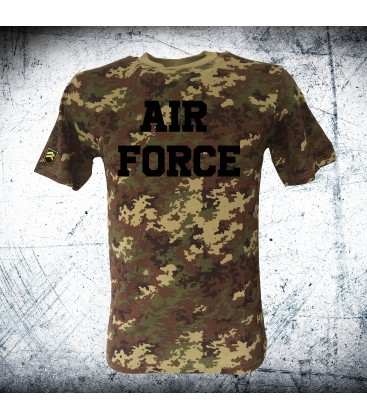 Military T-shirt VEGETATO AIR FORCE CAMO