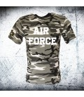Military T-shirt URBAN AIR FORCE CAMO