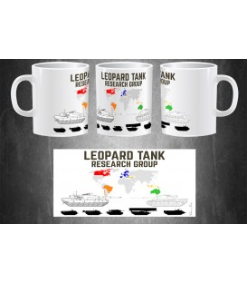 Leopard Tank Research Group Mug