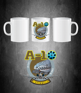 A-10 Warthog Logo Mug