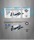 E-2 C Hawkeye U.S. Navy Mug