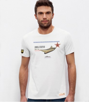 Performance Russian Carrier Admiral Kuznetsov T-Shirt