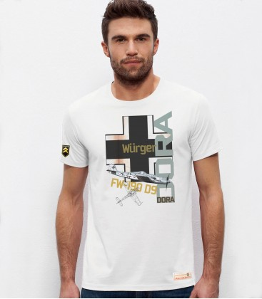 German Fighter FW-190 D9 DORA T-Shirt