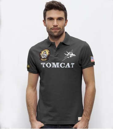 F-14 TOMCAT Jolly Rogers POLO