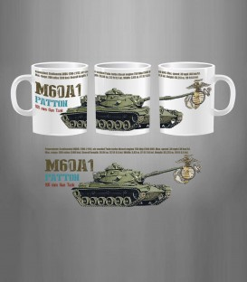 Marines M60A1 Patton MBT Mug
