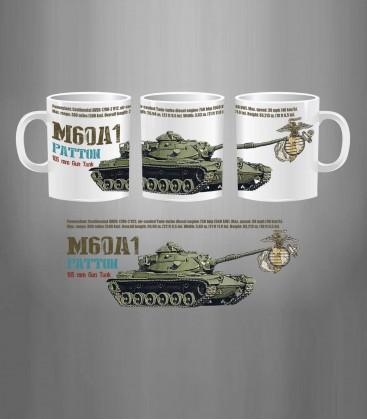 Marines M60A1 Patton MBT Mug