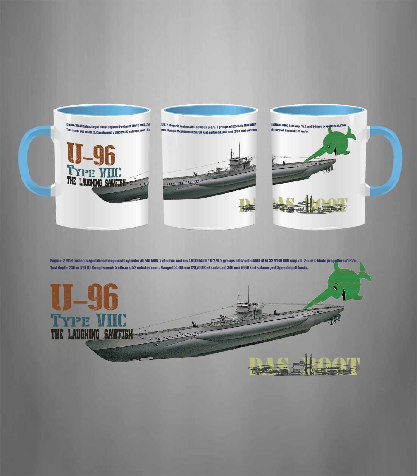 German Submarine U 96 Das Boot Mug