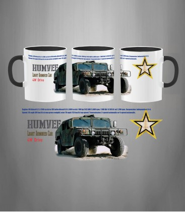U.S. Army HUMVEE Mug