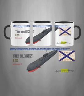 Russian Submarine Yuri Dolgorukiy Mug