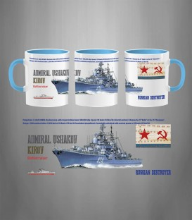 Russian Destroyer Admiral Ushakov Mug