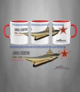 Russian Aircraft Carrier Admiral Kuznetsov Mug