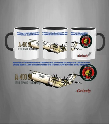 A-400M Grizzly Mug