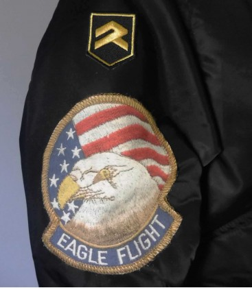 F-15 Strike Eagle CWU Black Jacket
