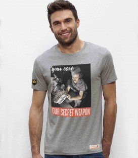 Military T-Shirt Our secret weapon WWII