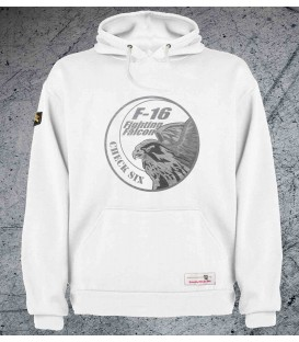 Military Sweatshirt F-16 Fighting Falcon