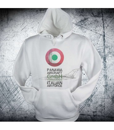 Military Sweatshirt Italian roundel Tornado