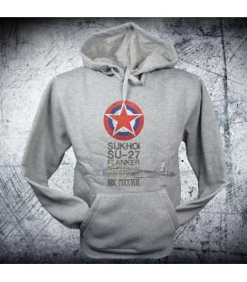 Military Sweatshirt SU-27 FLANKER
