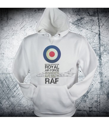 Military Sweatshirt RAF roundel Harrier