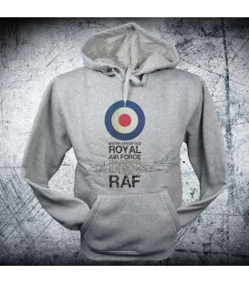 Military Sweatshirt RAF roundel Harrier
