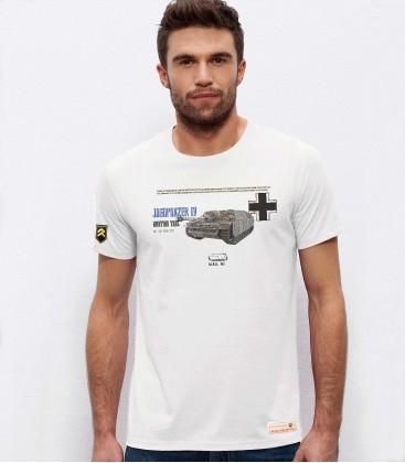 Military T-Shirt German JAGDPANZER IV WWII