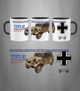 Military Mug Type 82 Kübelwagen