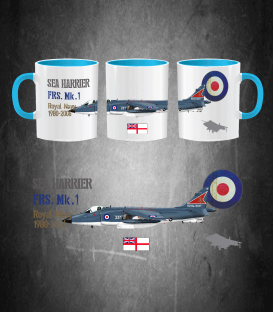 SEA HARRIER Royal MUG