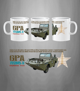 Military Mug GPA Seep Truck